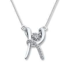 Diamonds in Rhythm 1/15 ct tw K Necklace Sterling Silver
