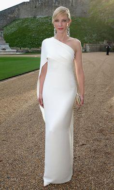 Cate Blanchett One Shoulder Dress