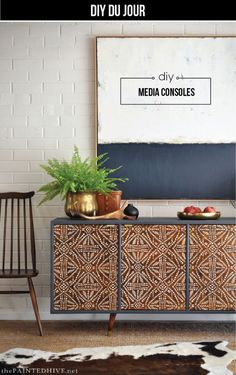 Upcycled furniture is not like utilizing the old decoration in rustic design, despite the similarity, it lets you express yourself to make a new stuff. Diy Furniture Projects, Paint Furniture, Furniture Decor, Furniture Design, Diy Projects, Cheap Furniture, Upcycled Furniture, Furniture Stores, Modern Furniture