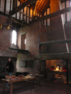 Gainsborough Old Hall, medieval manor house built in 1460