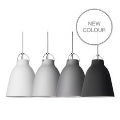 Caravaggio Matt pendant lamp  Beautiful dining lights, come in other shades if black is too dramatic.