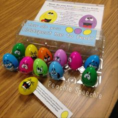 the peachie speechie: EGGspected and unEGGspected Behaviors Activity... use with social skills /pragmatic language groups. This activity targets (1) Perspective taking and (2) identifying expected and unexpected behaviors when given a social situation. Free download from TpT