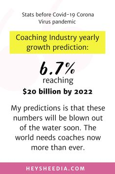 How to grow a Coaching Business during the Pandemic Hope Quotes, All Quotes, Quotes To Live By, Fastest Growing Industries, Mad Money, Boss Lady Quotes, Online Coaching, Daily Affirmations, Feeling Overwhelmed