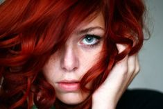 red, red, red hair.