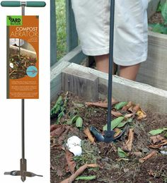 Aeration is essential to the process of decomposition and brings about faster compost. The Yard Butler Compost Turner (CA-36) makes the job quick and easy.