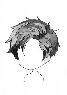 How To Draw anime chibi boy hairstyles Drawing Anime Bodies, Anime Drawing Styles, Anime Drawings Sketches, Cartoon Drawings, Anime Boy Sketch, Chibi Sketch, Anime Chibi, How To Draw Anime Hair, How To Draw Boy