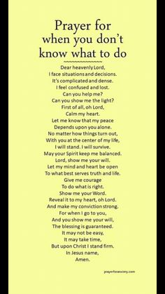 Are you stuck in life? Pray this prayer if you are in trouble and don't know what to do. Miracle prayer, prayers, Christians, Prayers to celebrate God's love in your life. to help you in the fight. Prayers to proclaim Christ's victory Prayer Times, Prayer Scriptures, Bible Prayers, Faith Prayer, God Prayer, Prayer Quotes, Power Of Prayer, Bible Verses Quotes, Faith In God