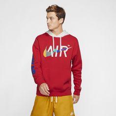 Red Nike Hoodie, Hoodie Jacket, Nike Sportswear, Hoodies, Sweatshirts, Nike Men, Kids Fashion, Graphic Sweatshirt, Pullover