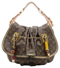a54a2df170fc Louis Vuitton Limited Edition Shoulder Bag Canvas Shoulder Bag