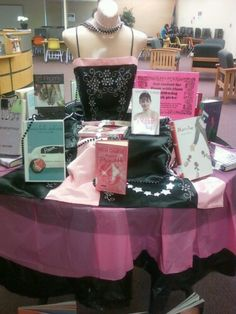 Prom Library Display (could possible be princess books, fairytales, etc.)