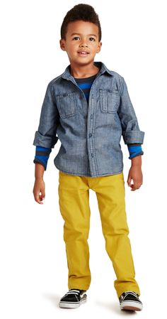 Chambray for your little man