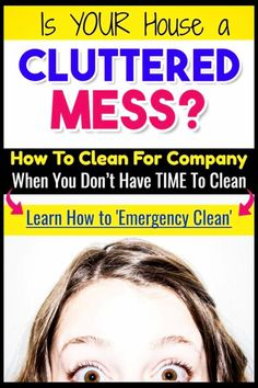 Lazy cleaning checklist for company - these speed cleaning tips are an easy checklist to clean for guests. If you need house cleaning tips to get your house tidy quickly, this is for you! Household Cleaning Schedule, Speed Cleaning, House Cleaning Tips, Cleaning Hacks, Cleaning Schedules, Daily Cleaning, Cleaning Solutions, Household Tips, Cleaning Lists