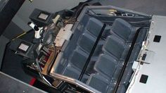 Back to the Future: The Ride vehicle seats