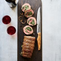 Learn to make this crazy-delicious filet mignon roulade, filled with creamed spinach, at Food & Wine.