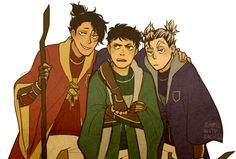Brokuro + Daichi caughtinthemiddle | HP AU the houses are wrong tho