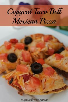 One of the best and most popular treats there is now available in your own home with this easy Copycat Taco Bell Mexican Pizza recipe.  This is perfect for a fun night in with the kids, or a unique birthday party treat!