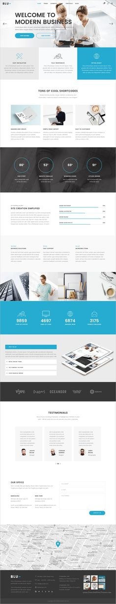 Blu is beautifully #design responsive #WordPress theme for multipurpose #business website with 18+ stunning homepage layouts download now➩ https://themeforest.net/item/blu-a-beautiful-theme-for-businesses-and-individuals/18217358?ref=Datasata
