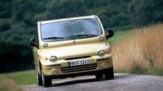 Automobilgeschichte: Der Fiat Multipla landet wegen seiner Front auf der Liste der hässlichsten Autos. Spiegel Tv, Bmw, Vehicles, Auto Design, Vintage Classic Cars, Automobile, Italy, History, Physics