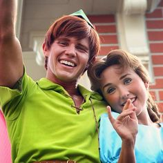 The new Peter (& Wendy, too?) at Disneyland.