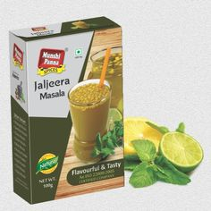 """The spice mix used to flavor this drink is also known as Jal-jeera powder. In Hindi, """"jal"""" means water and """"jeera"""" means cumin. The beverage form is essentially lemonade and jaljira powder, and is a popular summer drink in India. It is sometimes served as an appetizer, as it is intended to """"startle"""" the taste buds."""