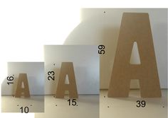 wood letters #diy #smallspaces