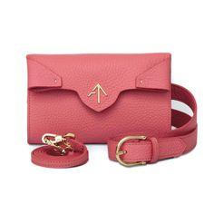 Pink Leather Beli Bag | MANU Atelier