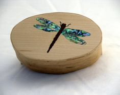 Etsy :: Your place to buy and sell all things handmade Dragonfly Wings, Wooden Boxes, Crates, Jewelry Box, Decorative Boxes, Dragonflies, Handmade, Etsy, Home Decor