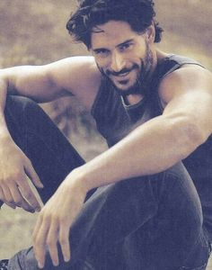 Ladies, if your man is likely to be AWOL, glued to the TV screen or actually at the game today, here's a little bit of guy to get in your life: Joe Manganiello (otherwise known as Alcide Herveaux from True Blood) But if you are feeling particularly lovely anyway, why not get him a subscription to our Men's box? He could even scrub up just as nice... maybe http://bellabox.com.au/men-box-membership.html