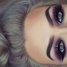 Wirklich wie braune Augen Make-up Pic 3090 Makeup make up for brown eyes Purple Eye Makeup, Smokey Eye Makeup, Makeup For Brown Eyes, Skin Makeup, Eyeshadow Makeup, Purple Eyeshadow, Makeup Brushes, Maybelline Eyeshadow, Purple Smokey Eye