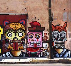 » La escena mexicana del graffiti Just Imagine