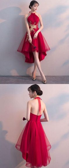 Cute tulle lace applique short prom dress, homecoming dress The most beautiful and newest outfit ide Trendy Dresses, Elegant Dresses, Cute Dresses, Beautiful Dresses, Casual Dresses, Short Dresses, Short Evening Dresses, Short Gown Dress, 1950s Dresses
