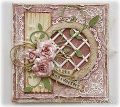 A Special Anniversary Card {Maja Design & Cheery Lynn Designs} - Such a pretty mess
