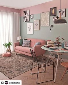 33 Vintage Room Ideas – Wohnzimmer Gemütlich - New Sites Home Living Room, Apartment Living, Living Room Decor, Bedroom Decor, Living Room And Kitchen Together, Living Roon, Wall Decor, Home Interior, Interior Design Living Room