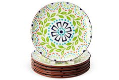 Springtime Dinner Plates, Set of 6 from Gansett Lane Home
