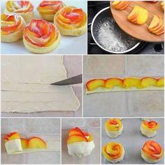 Fleurs de pommes. www.recette-gateau.eu