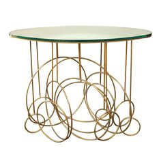 What a stunning Foyer Table  -- Hubert le Gall Console Table with Mirrored Top