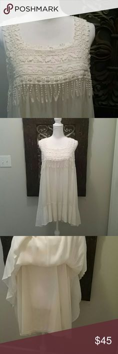 Adorable Tunic Dress This precious boutique dress speaks for itself.  Absolutely adorable and only worn once. Hem & Thread Dresses