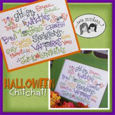 Halloween Chitchat | YouCanMakeThis.com