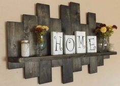 Rustic offset shelf offset shelves wooden shelves shabby