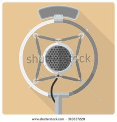 http://image.shutterstock.com/display_pic_with_logo/82089/310657229/stock-vector-vintage-microphone-vector-icon-retro-styled-flat-design-vector-icon-of-vintage-suspended-radio-310657229.jpg