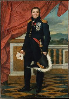 General Étienne-Maurice Gérard (1773–1852), Marshal of France  Jacques-Louis David  (French, Paris 1748–1825 Brussels)  Date: 1816