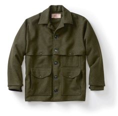 598d2eac The Double Mackinaw Cruiser features a second layer of Mackinaw Wool for  added warmth and protection against all elements. Patented in 1914 and  still in ...