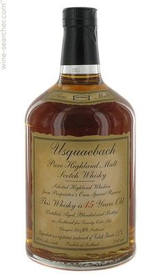 Usquaebach 15 Years Old Malt Scotch Whisky, Highlands, Scotland