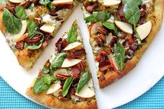 When you make Bacon Pizza with Spinach Salad, you'll discover an amazing love of gourmet pizzas and how adding a salad onto pizza can bring new delights.