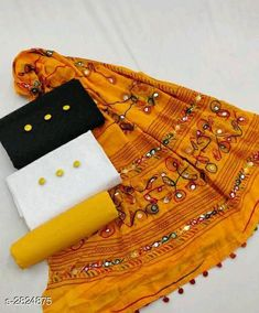Checkout this latest Suits Product Name: * Voguish Cotton Suits & Dress Materials * Top Fabric: Cotton + Top Length: 2 Meters Bottom Fabric: Cotton + Bottom Length: 2.5 Meters Dupatta Fabric: Cotton + Dupatta Length: 2.25 Meters Lining Fabric: No Lining Type: Un Stitched Pattern: Chikankari Multipack: 2 Top Country of Origin: India Easy Returns Available In Case Of Any Issue   Catalog Rating: ★4 (3096)  Catalog Name: Divine Voguish Cotton Suits & Dress Materials Vol 19 CatalogID_383519 C74-SC1002 Code: 715-2824875-4821
