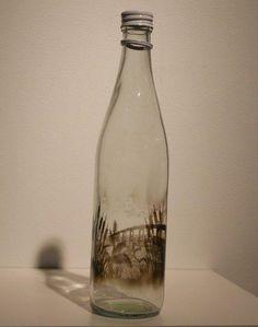 The Bottled Smoke Artworks of Jim Dingilian - Imgur