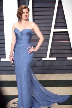 Amy Adams in Atelier Versace - Oscar After Party   - HarpersBAZAAR.com