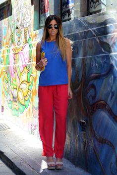 moda-look-azul-vermelho