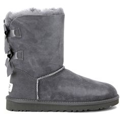 UGG Boots ($200) ❤ liked on Polyvore featuring shoes, boots, bags, grigio, ugg australia, retro boots, retro shoes, button shoes and button boots