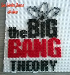 The Big Bang Theory hama perler beads by Jessica Bartelet - Les perles Hama de Jess - Pattern: http://www.pinterest.com/pin/374291419003369724/